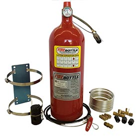 Fire Bottle AMRC-1000, 10# Automatic or Manual Fire Suppression System