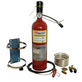 Fire Bottle AMRC-500, 5# Automatic or Manual Fire Suppression System